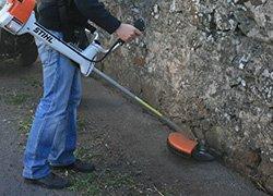 Eco brosse d sherbante poget - Desherbage mecanique des allees ...